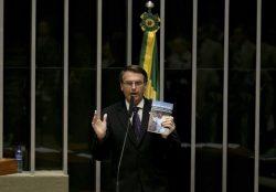 Bolsonaro fez acusações ao governo em discurso na Câmara