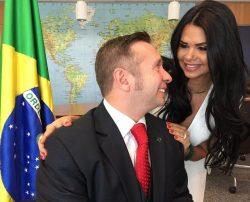 Milena Teixeira, mulher do ministro do Turismo
