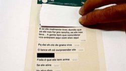Autoridades descobriram a trama após ter acesso às mensagens gravadas no celular da jovem