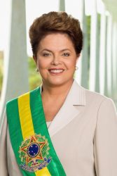 Dilma Rousseff em foto oficial