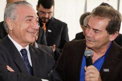 Brasília - DF, 10/06/2016. Presidente interino Michel Temer durante encontro com Centrais Sindicais. Foto: Marcos Corrêa /PR