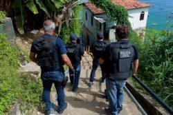 Ação da Policia contra o Tráfico de Drogas na Gamboa Foto: Elói Corrêa/GOVBA