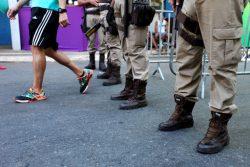 Pórticos de Segurança da PM no Carnaval de Salvador
